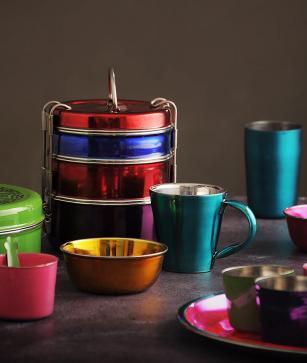 Tiffinware by Risham Chawla Design Studio