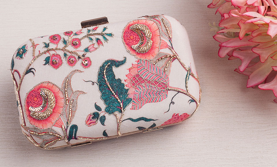Buy glittering complements vian embroidered embellished