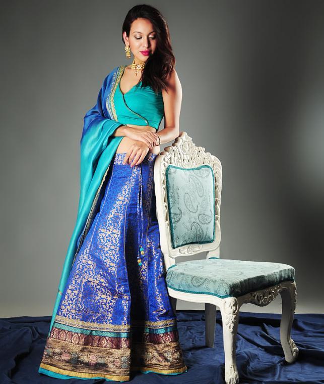 Buy Indian Empress By Nisha Meherish Ethnic Lehenga Sets