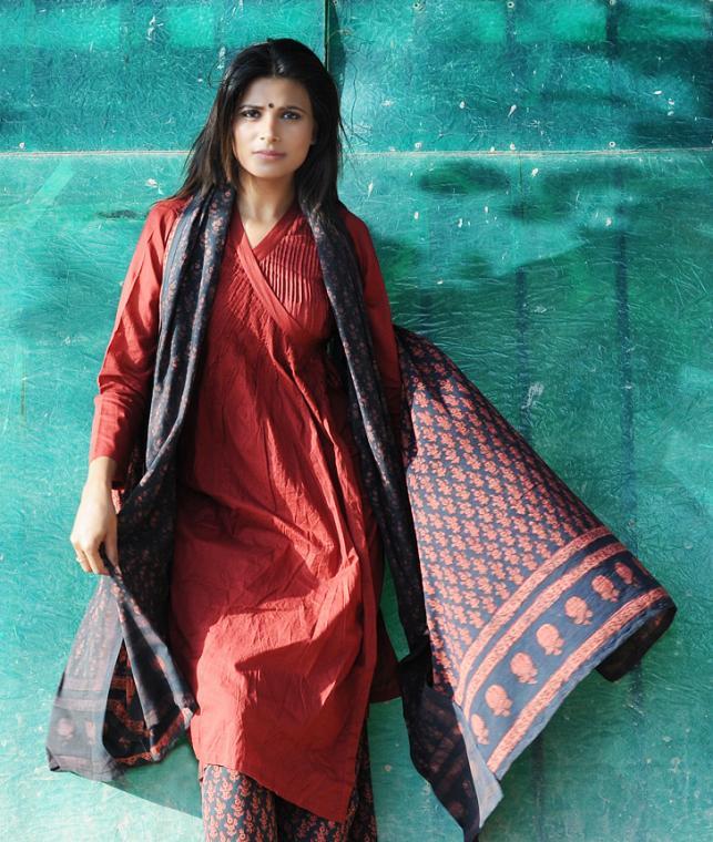 Buy Fadat Romance By Nayika Natural Dyed Fadat Hand Block