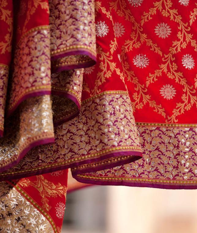 Buy Bespoke Banaras By Ekaya Elegant Amp Chic Benarasi Silk