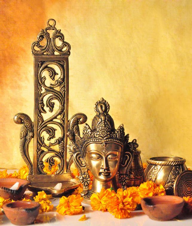 buy brass bounty by tamarind intricately handmade brass